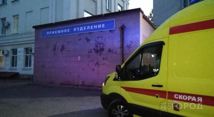 В Чебоксарах задержали мужчину, который в ходе ссоры на дороге выстрелил в лицо