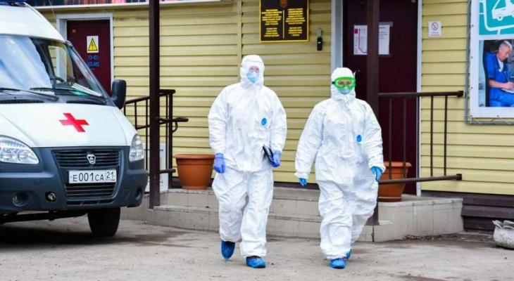 Количество новых заболевших коронавирусом в Чувашии увеличилось