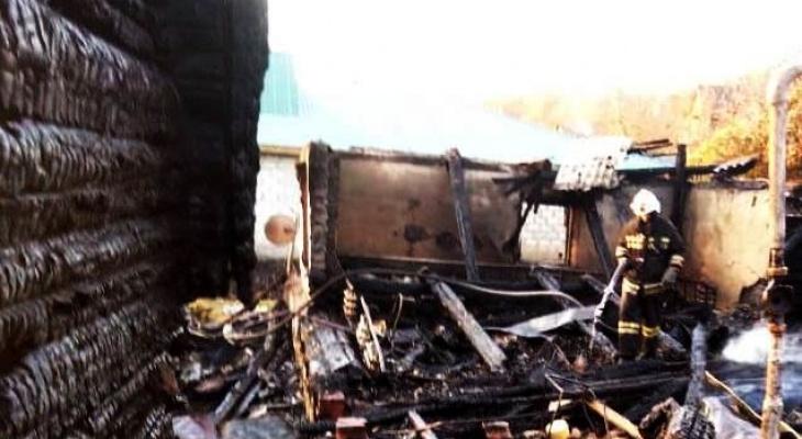 Во время пожара в Алатыре погибла пара