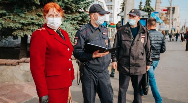 В Чебоксарах стало больше групп для преследования нарушителей масочного режима