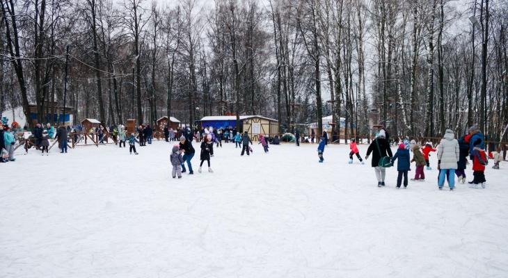 Первый ледовый каток этого сезона откроется в Чебоксарах в тестовом режиме