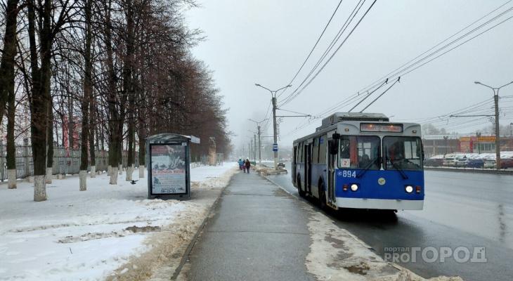 Как власти предлагают изменить семь троллейбусных маршрутов в Чебоксарах