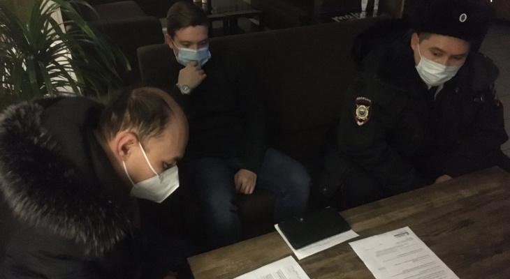 Два ночных кафе получили штрафы по наводке бдительных чебоксарцев