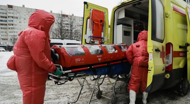 Данные по коронавирусу на воскресенье: за сутки умерло больше 10 человек