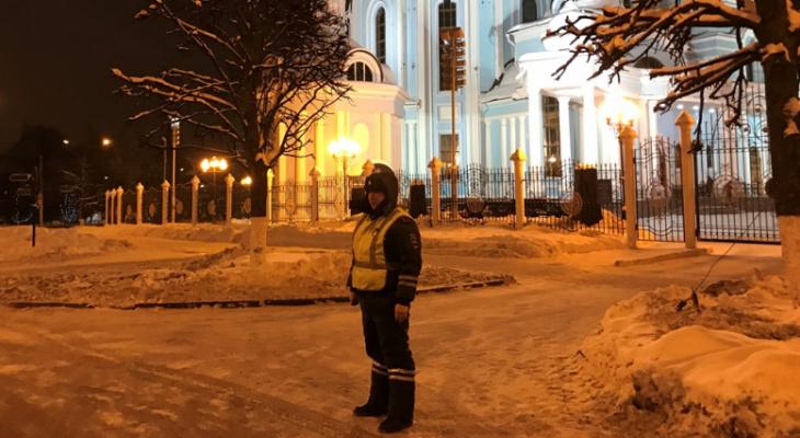 Усиленные наряды полицейских не допустили нарушений на Рождество