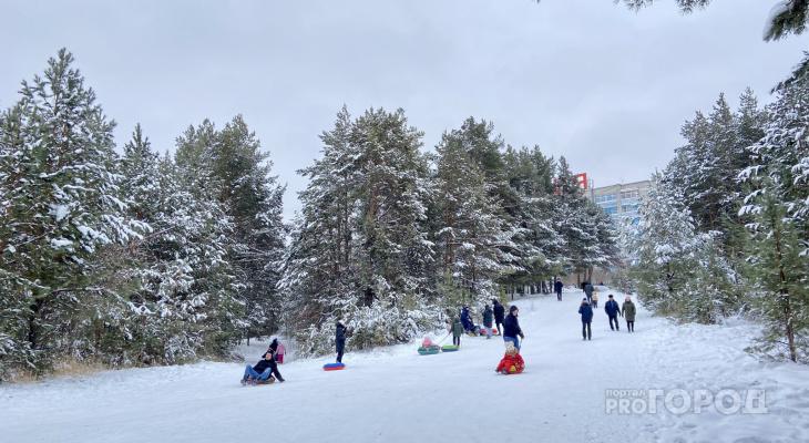 В воскресенье в Чувашии ожидается сильный снег с ухудшением видимости до 500 метров