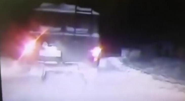 """Нетрезвый водитель устроил зрелищную погоню на """"Буханке"""" в Чебоксарском районе"""