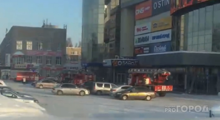 """В """"МТВ-Центре"""" эвакуировали всех посетителей, на месте работают спасатели"""