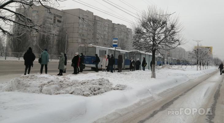 В Новоюжном районе встали троллейбусы