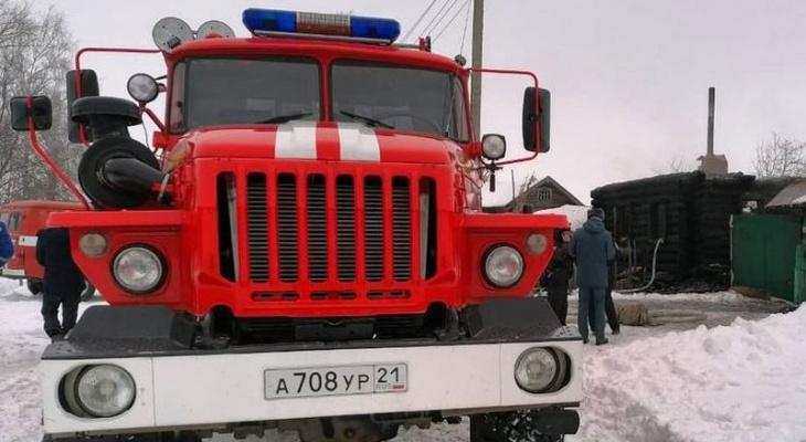 Пожар в селе Напольное унес жизни двух человек