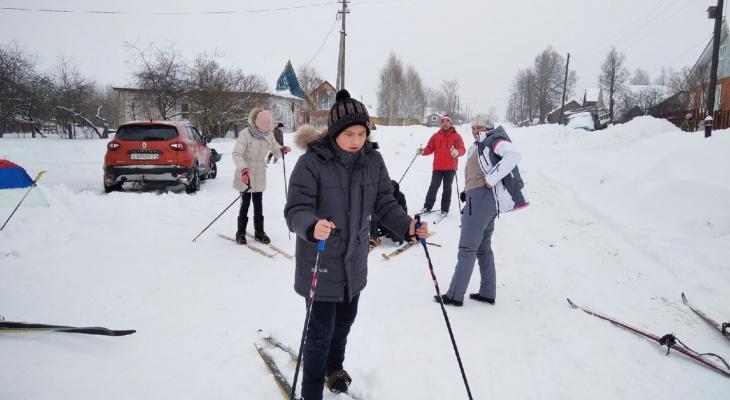 """Самая добрая """"Лыжня России"""" прошла в деревне Чебоксарского района"""