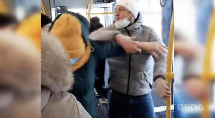 Чебоксарец устроил драку в автобусе