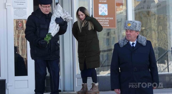 Герой России из Чувашии встретился с новочебоксарскими школьниками