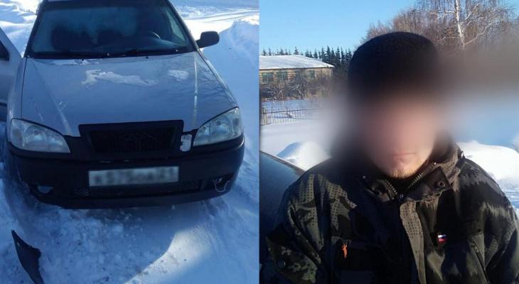 Пьяный водитель пытался скрыться от погони: с ним в машине были дети