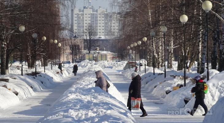 В Чувашии резко потеплеет до +1 градуса