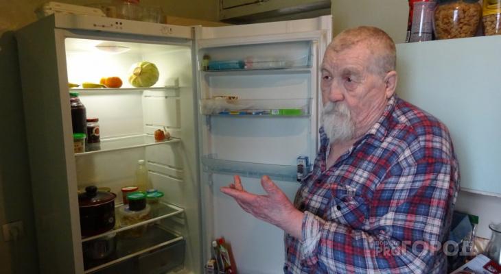 Что в холодильнике у простого пенсионера из Чувашии и на что уходят деньги