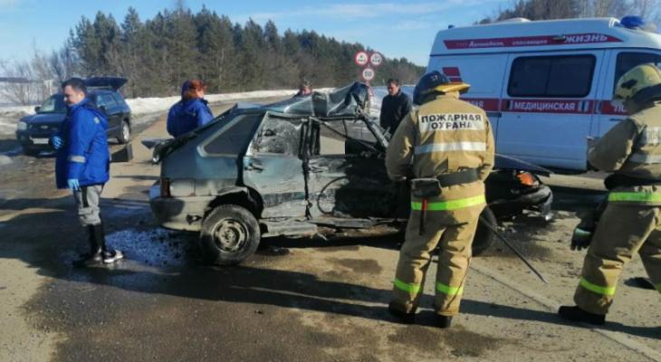 В Моргаушском районе погиб 21-летний водитель