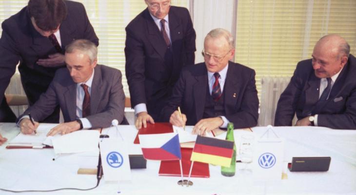 Какие изменения произошли в Skoda Avto после слияния с Volkswagen Group
