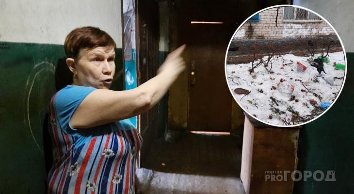 """Жители Новочебоксарска выбрасывают из окон мебель и отходы: """"Тут алкаши живут, не хотят вставать"""""""