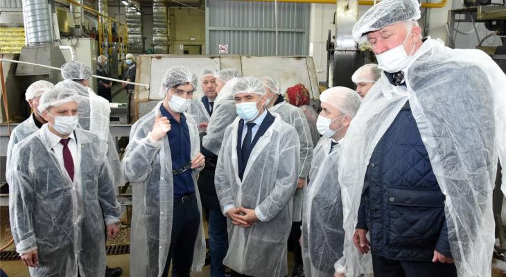Николаев предложил добавлять в школьные обеды сушеную картошку местного производства