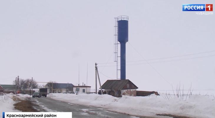 Жители деревни Красноармейского района живут без воды