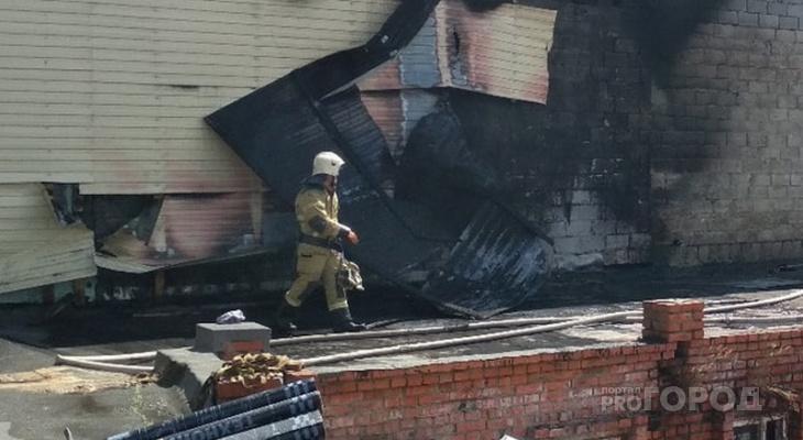 Семь пожаров за выходные: один житель Чувашии погиб