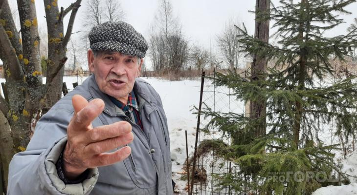 Пенсионер засадил больше 1000 деревьев, чтобы спасти деревню от природного явления