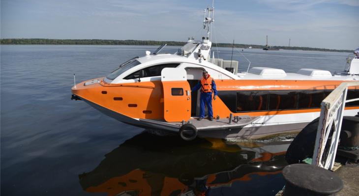 Путешествия из Чебоксар в Казань на быстром катере начнутся этим летом
