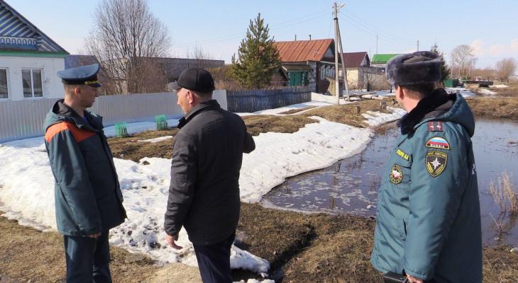 В Алатыре 200 домов находятся под угрозой затопления, в 8 районах уже идет борьба