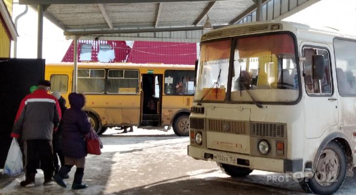 Появилось расписание автобусов на дачный сезон в Сосновку