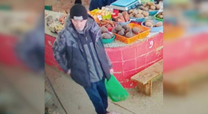 Полиция разыскивает мужчину, который не проходит мимо чужих и дорогих вещей