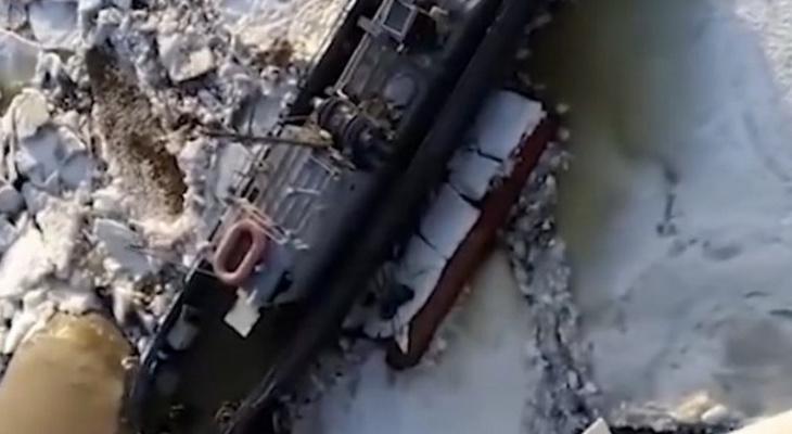 Корабль без команды уплыл из Чувашии и оказался в Татарстане