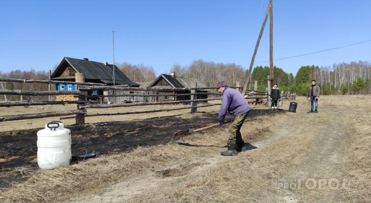 Семья из Шемуршинского района спасла Национальный парк от пожара