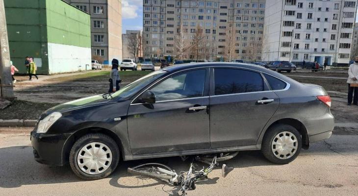 В Новоюжном районе сбили подростка на велосипеде