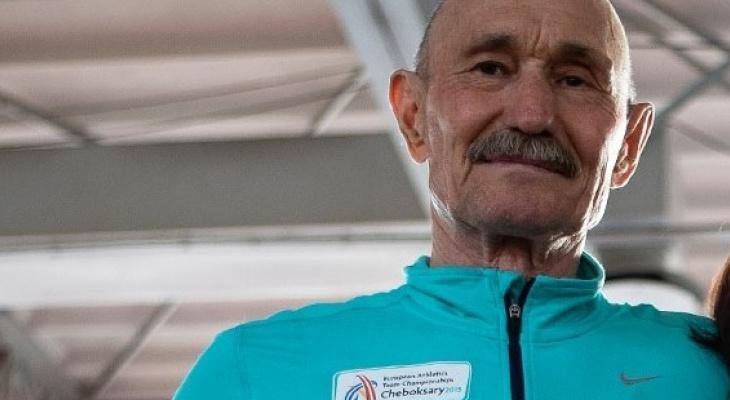 Пенсионер из Чувашии установил мировой рекорд по спортивной ходьбе