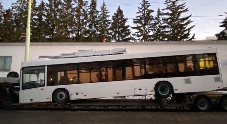 После майских праздников жители Чебоксар и Новочебоксарска начнут ездить на новых троллейбусах