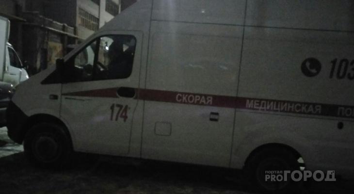 Ночью в Новочебоксарске мужчина выпал из окна жилого дома