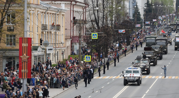 Два участника парада Победы в Чебоксарах оказались коронавирусными больными