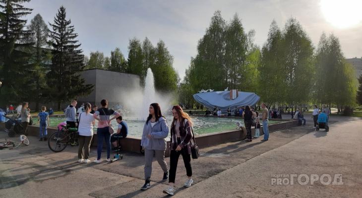 """В Новочебоксарске открыли фонтан за 20 млн рублей: """"Тут была чаша, которая заполнялась дождевой водой"""""""