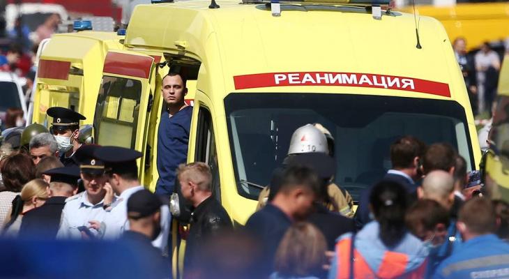 Количество пострадавших детей во время ЧП в Казани увеличилось