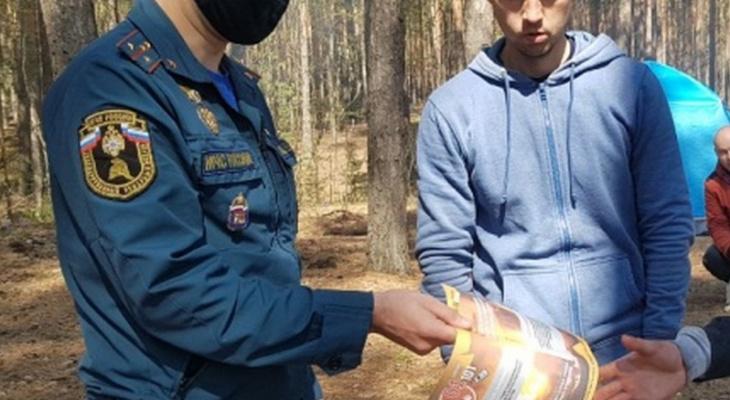В Чувашии поймали больше полусотни поджигателей травы и выписали штрафы
