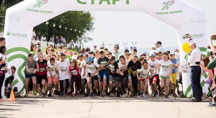 """""""Зеленый марафон"""" Сбербанка в Чебоксарах пройдет на Московской набережной"""
