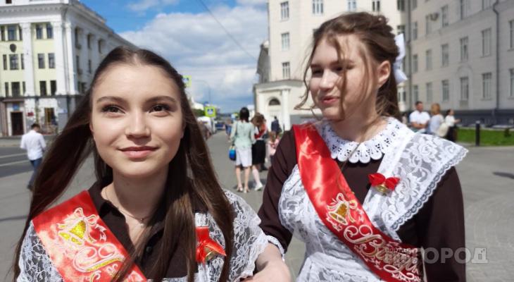 """Чебоксарские школьники о Последнем звонке: """"Планы большие - поступить в университет, а сегодня - петь и танцевать!"""""""