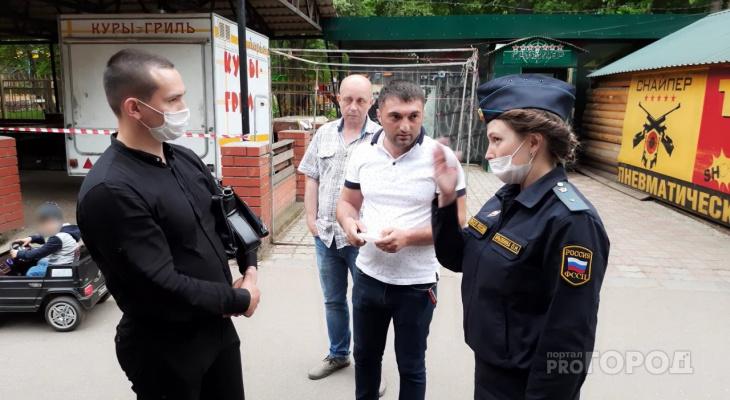 Суд Новочебоксарска постановил запечатать все шашлычные в роще