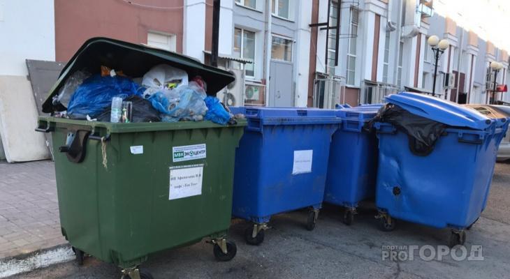 В Чувашии увеличат тарифы по вывозу отходов, если жители мусорят слишком много