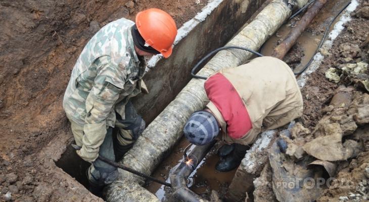 В Чебоксарах от горячей воды отключили около полутора тысяч домов, некоторых лишили света