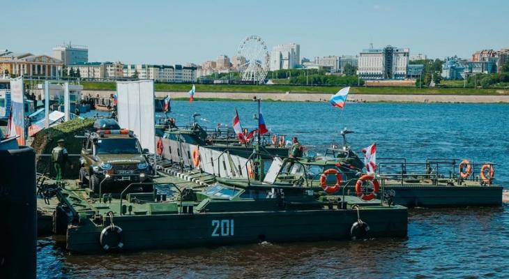 Чебоксары встретили уникальную экспедицию Понтонных подразделений инженерных войск