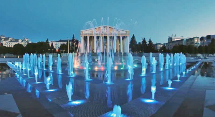 В столице Чувашии стартует сезон фонтанов
