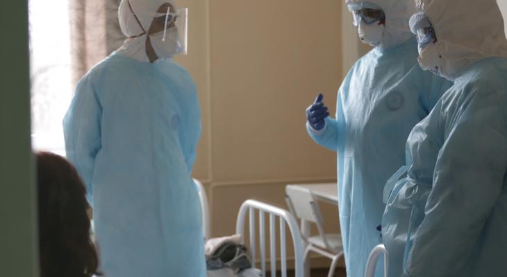 За месяц от коронавируса в Чувашии умерли 64 человека
