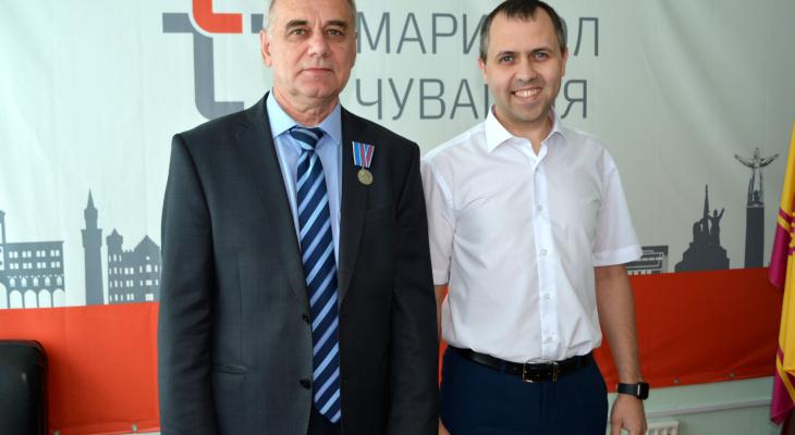 Заместитель главного инженера Чебоксарской ТЭЦ-2 Сергей Столяров награжден медалью Минэнерго РФ